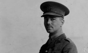 War Poet Wilfred Owen in uniform