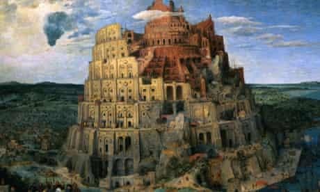 The Tower of Babel, by Pieter Brueghel the Elder, 1563