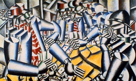 The Card Players - Fernand Leger, 1917