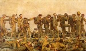 Gassed by John Singer Sargent, 1918-1919