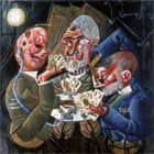 Disabled War Veterans Playing Cards - Otto Dix