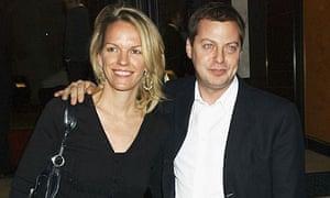 Elisabeth Murdoch and Matthew Freud