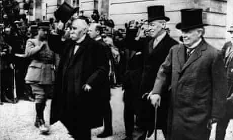 Allied leaders at Versailles