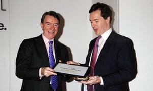 George Osborne and Lord Mandelson