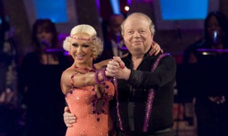 John Sergeant with Kristina Rihanoff on Strictly Come Dancing