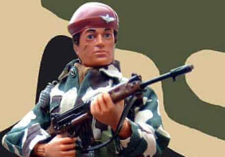 Action Man in Parachute Regiment uniform