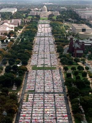 national mall, aids quilt