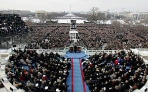 George W Bush, inauguration, national mall