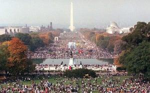 washington, dc, national mall, Million Family March