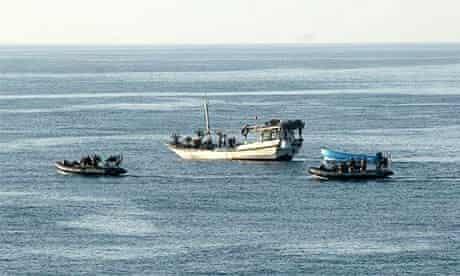 Royal Navy operation against Somali pirates