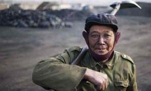China coal worker