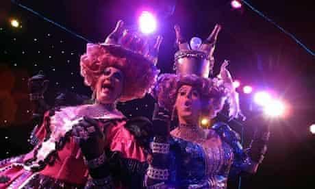 Ugly sisters pantomime