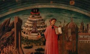 Domenico di Michelino's Dante Illuminating Florence With His Poem