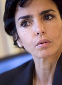 French justice minister Rachida Dati