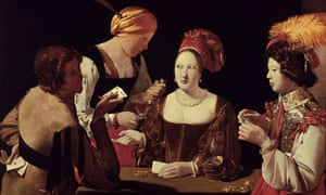The Cheat with the Ace of Diamonds, by Georges de la Tour (1635)