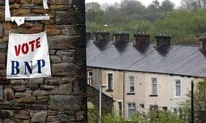 A BNP banner