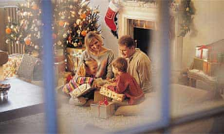 Family Christmas with young children