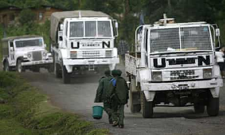 United Nations peacekeepers in eastern Congo