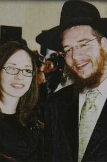 Rabbi Gabriel Holtzberg and his wife Rivka