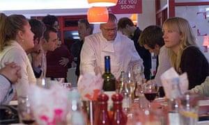 Heston Blumenthal at Little Chef, Popham
