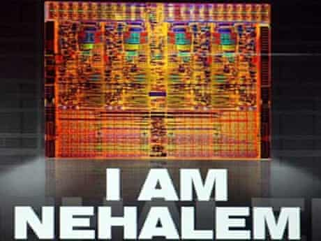 Intel diagram of Nehalem chip