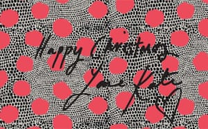 Wrapping paper designed by Kate Moss