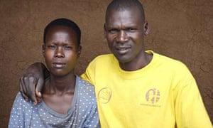 Katine residents Mary Amulo and husband Julius Elwangu