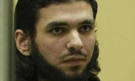 Youssef Mohammed el-Hajdib in court in Düsseldorf