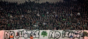 Gallery Greek riots: Panathinaikos fans