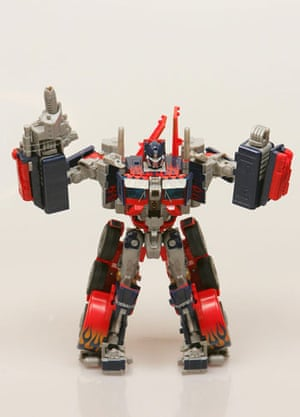 Gallery Children's toys: The Optimus Prime toy inspired by Transformers The Movie