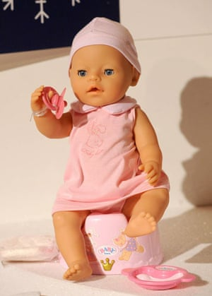Gallery Children's toys: Baby Born with a Magic Potty