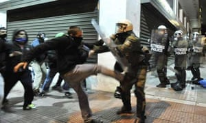 Athens rioters