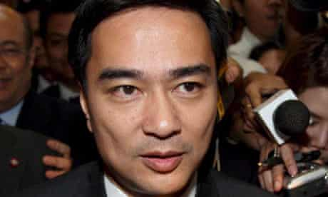 Abhisit Vejjajiva is elected as new prime minister