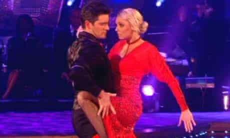 Tom Chambers and Camilla Dallerup
