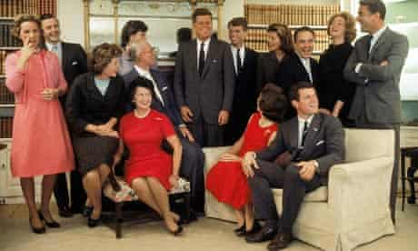 portrait of the kennedy family at home