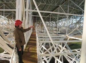 Jodrell Bank: Dr Tim O'Brien, Lovell Telescope