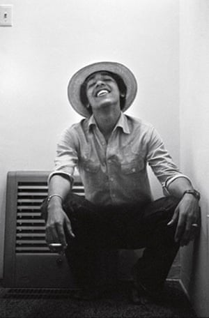 Gallery Obama's student years: Barack Obama as a student at Occidental College, Los Angeles