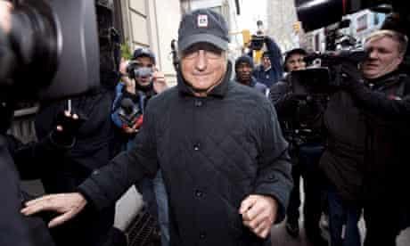 Bernard Madoff placed under house arrest