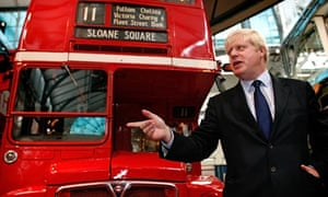 Mayor of London Boris Johnson announced the design competition for a new London Routemaster bu