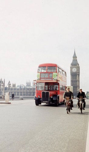 Gallery Routemaster: 1968: An early prototype of the red routemaster bus