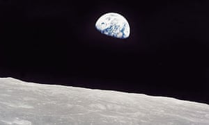 Earthrise, earth, moon, apollo 8
