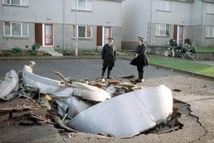 Gallery Lockerbie anniversary: Lockerbie debris