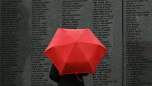 Gallery Lockerbie anniversary: Headstone in the Lockerbie disaster memorial garden