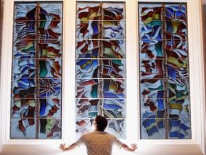 Gallery Lockerbie anniversary: Lockerbie memorial window