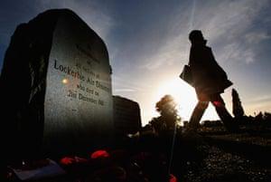 Gallery Lockerbie anniversary: Lockerbie memorial
