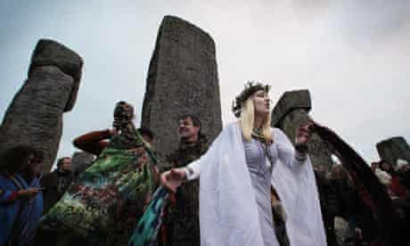 Celebrations Are Held At Stonehenge For The Winter Solstice