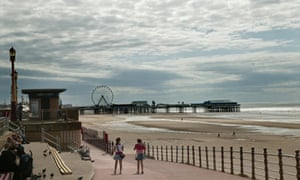 The Blackpool seafront
