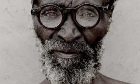 A Zulu man wearing adaptive eyeware