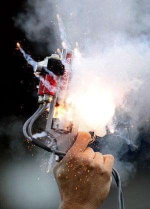 Gallery Best of the year - Sport: starting pistol