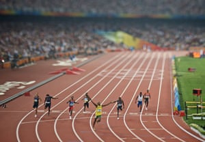 Gallery Best of the year - Sport: 100m sprint